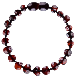 Baroque Cherry Baby Teething Bracelet