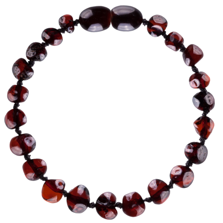 Baroque Cherry Teething Bracelet