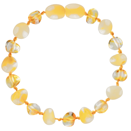 Baroque Milk/Lemon Teething Bracelet