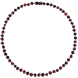 Baroque Cherry Adult Necklace