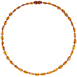 Beans Cognac Adult Necklace