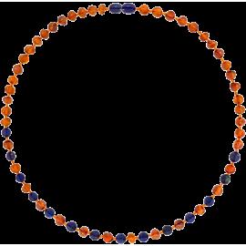 Baroque Lapis Lazuli Adult Necklace