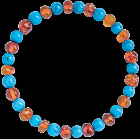Baroque Turquoise Adult Bracelet