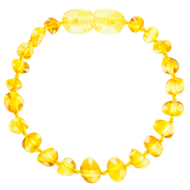 Baroque Lemon Baby Teething Bracelet