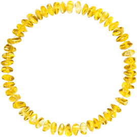 Nuggets Lemon Teething Bracelet