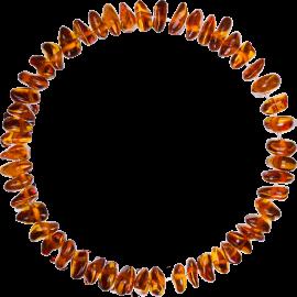 Nuggets Cognac Teething Bracelet