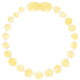 Baroque Unpolished Milk Teething Bracelet