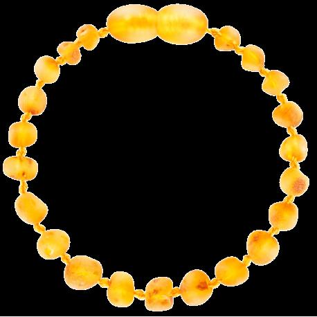 Baroque Unpolished Honey Teething Bracelet