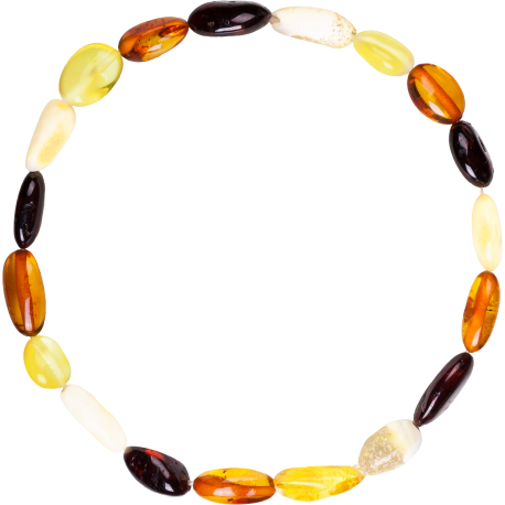 Beans Multi 4 colors Adult Bracelet