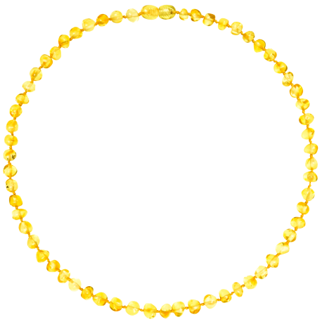 Baroque Lemon Adult Necklace