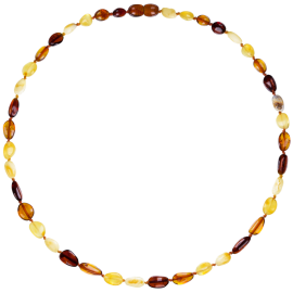 Beans Multi 4 colors Adult Necklace