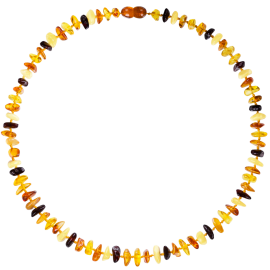 Nuggets Multi 4 colors Adult Necklace