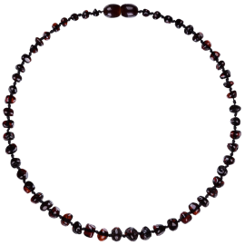 Baroque Cherry Teething Necklace