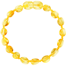 Beans Lemon Teething Bracelet