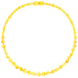 Baroque Lemon Teething Necklace