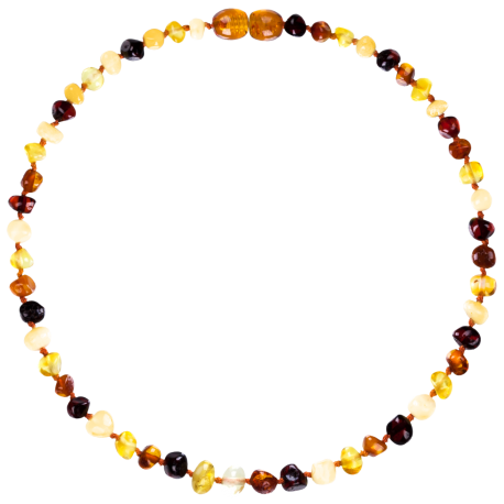 Baroque Multi 4 colors Teething Necklace