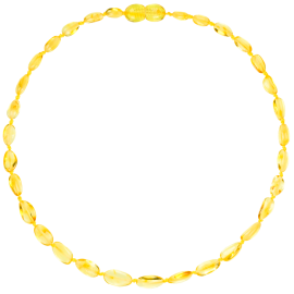 Beans Lemon Teething Necklace