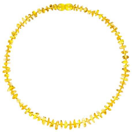 Nuggets Lemon Teething Necklace
