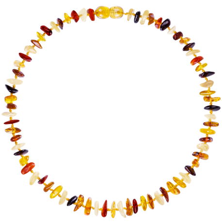 Nuggets Multi 4 colors Teething Necklace