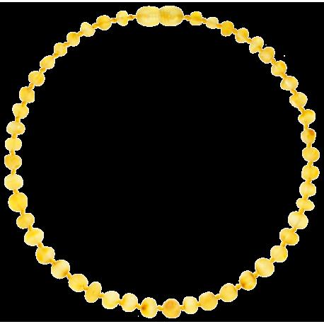 Baroque Unpolished Lemon Teething Necklace