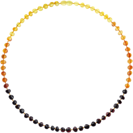Baroque Rainbow Adult Necklace