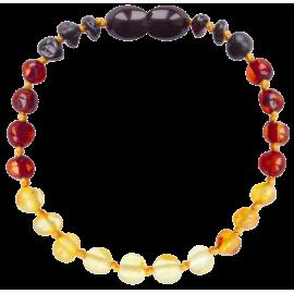Baroque Reverse Rainbow Teething Bracelet