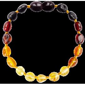Beans Reverse Rainbow Teething Bracelet
