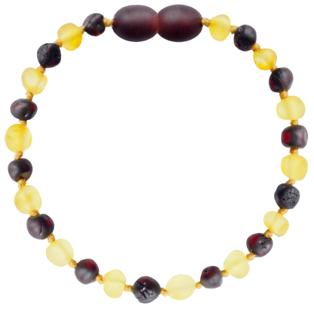 Baroque Unpolished Lemon/Cherry Teething Bracelet