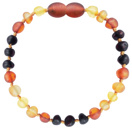 Baroque Unpolished True Rainbow Teething Bracelet