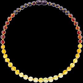 Baroque Reverse Rainbow Teething Necklace