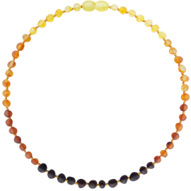 Baroque Unpolished Rainbow Teething Necklace