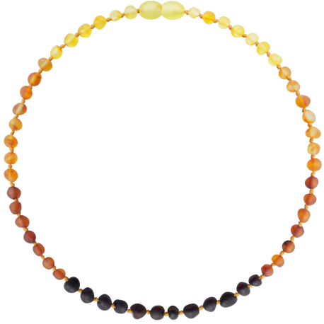 Baroque Unpolished Rainbow Teething Necklace