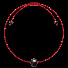 Red String Baroque Cherry amber Bracelet